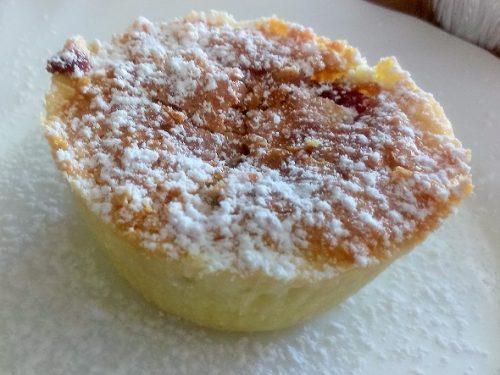 Ricetta – Tortine ripiene con crema frangipane e marmellata