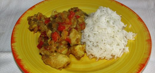 pollo-al-curry-verdure-basmati