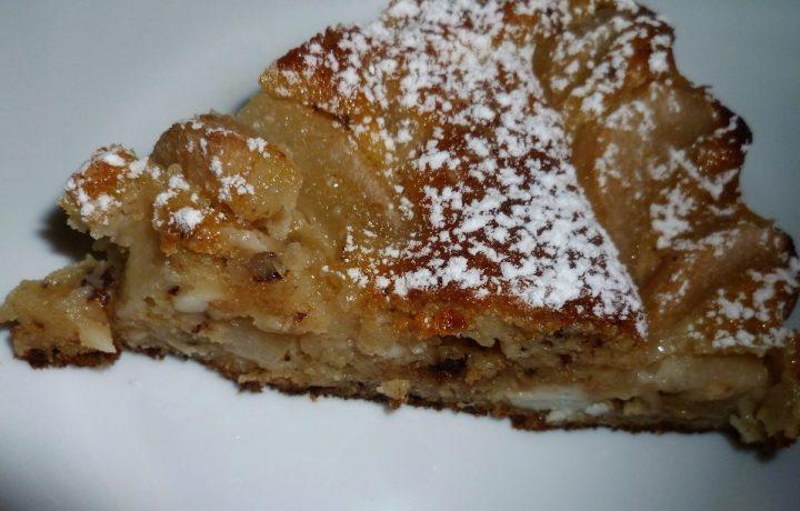 torta-pere-ricotta