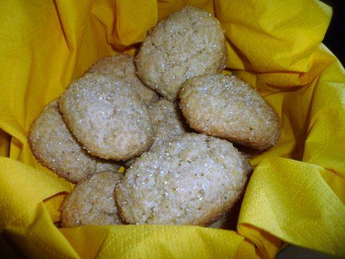 Biscotti morbidi con zucchero di canna