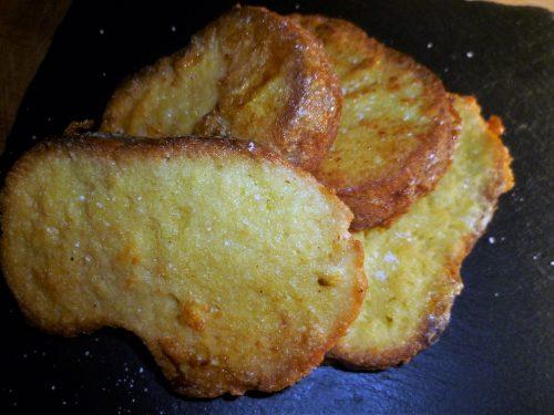 Pane fritto con le uova