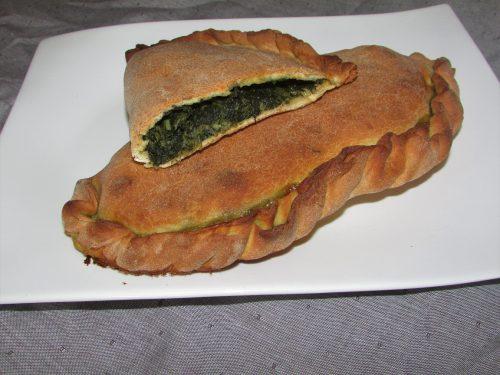 Calzone di spinaci