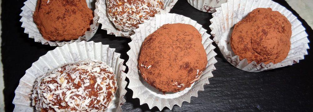 Praline con cioccolato fondente e nutella