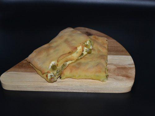 Ricetta – Scaccia con fave verdi e ricotta