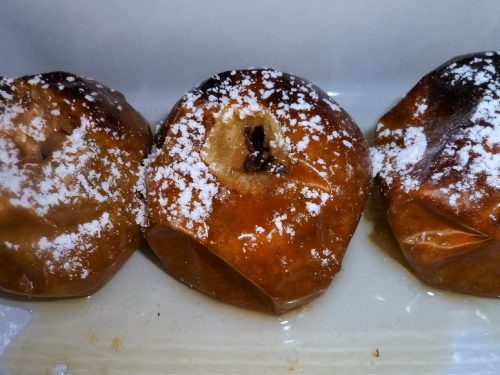 Mele cotte in forno