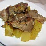 Ricetta - Costolette di agnello con patate