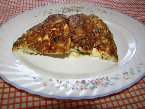 Ricetta – Frittata con fave verdi e ricotta