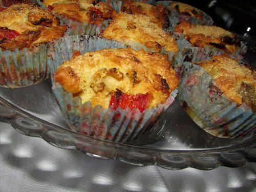 Ricetta – Muffin salati di verdure