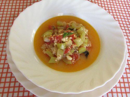 Ricetta – Zucca siciliana lunga in umido
