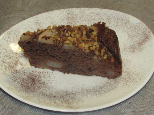 Ricetta – Torta pere e cacao