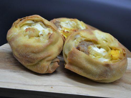 Ricetta – Tomasini con uova ricotta e salsiccia