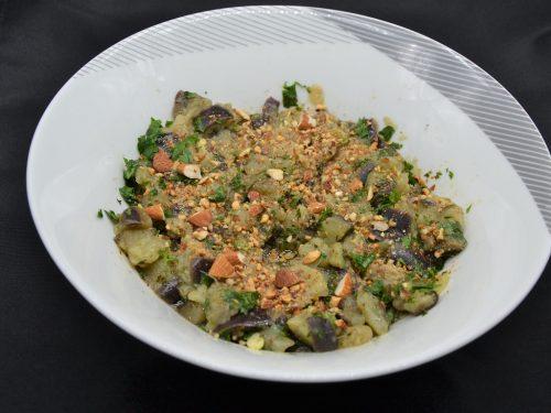 Ricetta – Melanzana lessa in insalata