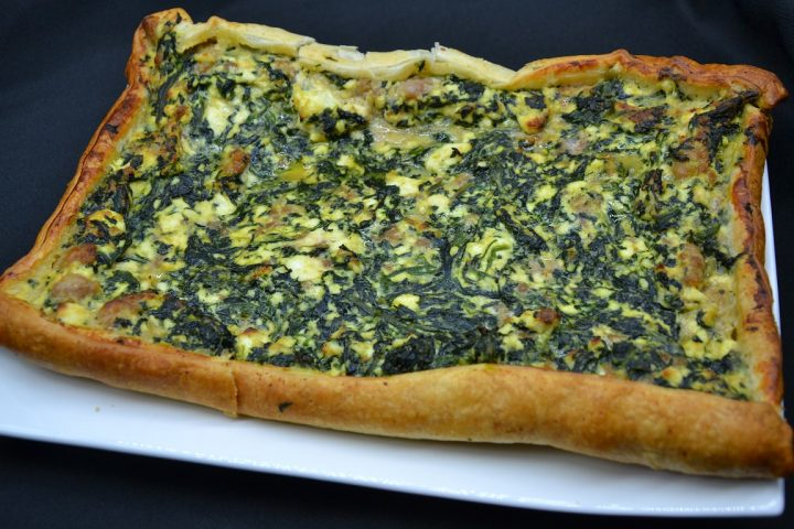 torta-salata-con-spinaci-ricotta-e-salsiccia