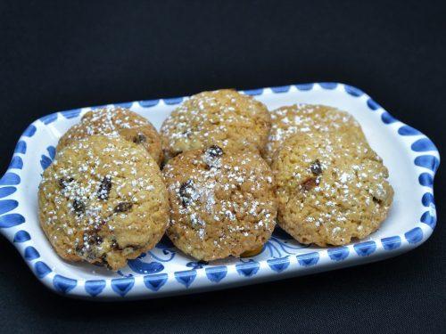 Ricetta – Biscotti all'uva passa