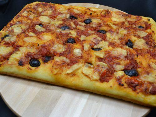 Ricetta – Pizza alta e soffice