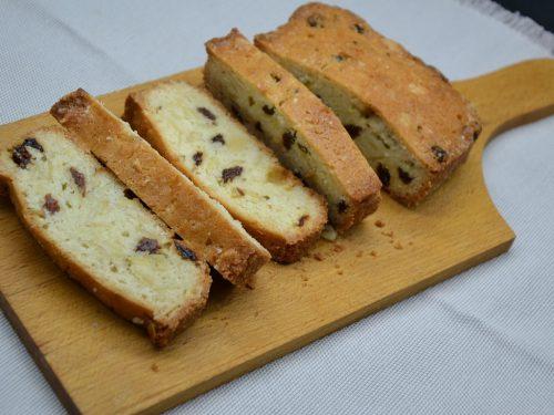 Ricetta – Pan dolce con mandorle e uvetta