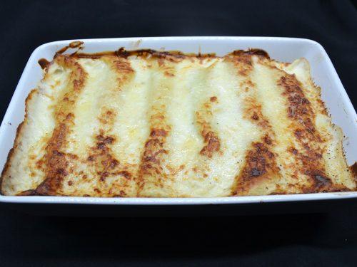 Ricetta – Crepes al forno con spinaci e salmone