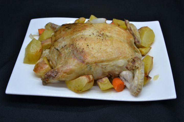 ricetta-pollo-ripieno-con-ventrigli-e-fegatini