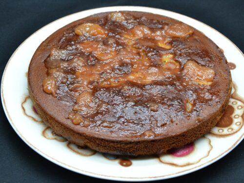 Ricetta – Torta di pere e banane